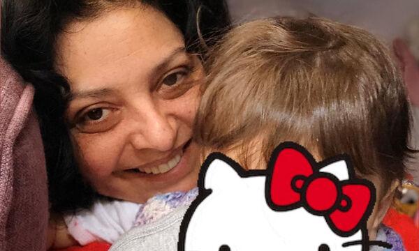 Βασιλική Ανδρίτσου: Η τρυφερή φωτογραφία του συζύγου της με την κόρη τους