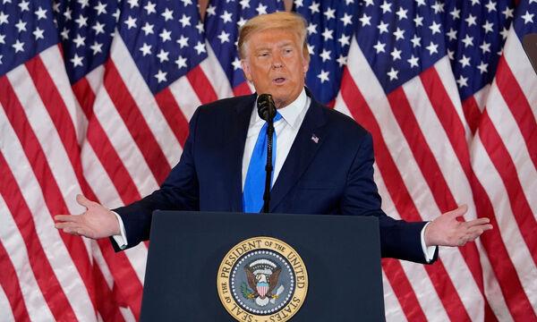 Εκλογές ΗΠΑ 2020 Αποτελέσματα - «Βόμβα» Τραμπ: Έγινε νοθεία! Θα πάω στο Ανώτατο Δικαστήριο