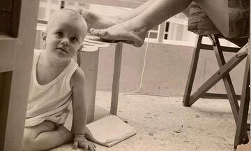 Πασίγνωστη Ελληνίδα ηθοποιός το κοριτσάκι της φωτογραφίας