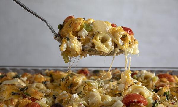 Τορτελίνια με τυρί στον φούρνο - Εύκολο και νόστιμο φαγητό σε χρόνο dt
