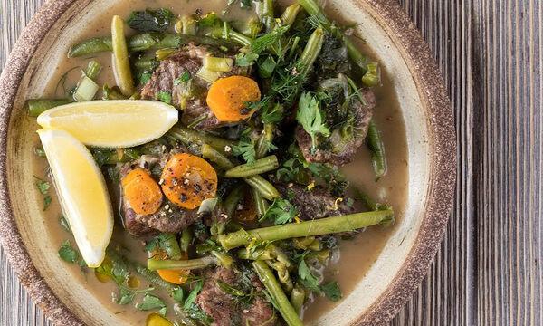 Μοσχάρι λεμονάτο με φασολάκια: Ένα θρεπτικό φαγητό για όλη την οικογένεια