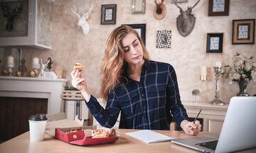Διατροφικά tips για την περίοδο της τηλεργασίας