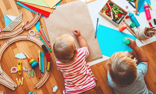 Πώς θα ενθαρρύνετε το δημιουργικό παιχνίδι στο σπίτι;