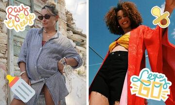 Ελληνίδες που έμειναν έγκυες κατά τη διάρκεια της πανδημίας (pics)