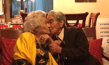 Το ζευγάρι με τα 79 χρόνια γάμου που μπήκε στο βιβλίο Γκίνες (pics)