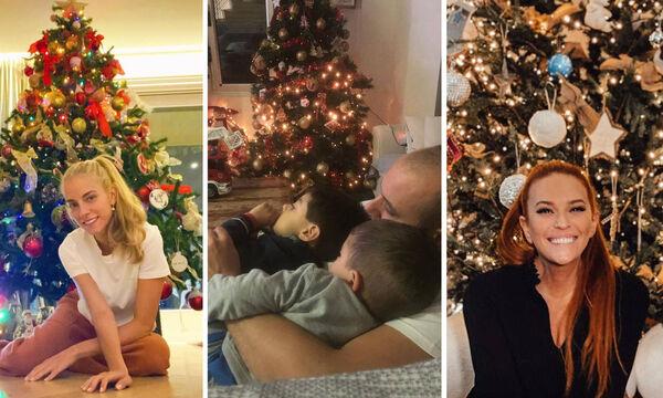 Ποιοι διάσημοι Έλληνες γονείς έχουν ήδη στολίσει για τα Χριστούγεννα;