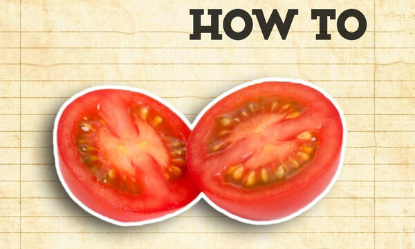 Tips μαγειρικής από τον Άκη: Πώς κόβουμε όλα τα ντοματίνια με μία κίνηση;