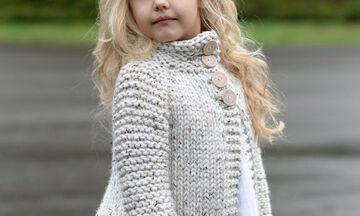 Mini Fashion Guide: Οι πιο ωραίες πλεκτές ζακέτες της σεζόν μόνο για τις κορούλες σας