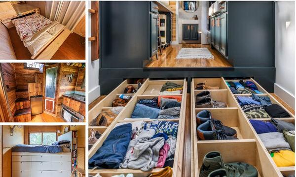 Έξυπνες ιδέες για αποθηκευτικό χώρο σε μικρά σπίτια