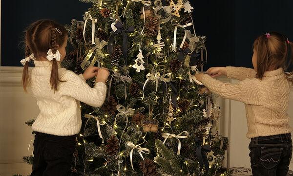 Φτιάξτε χριστουγεννιάτικα στολίδια με υλικά που έχετε σπίτι σας (vid)