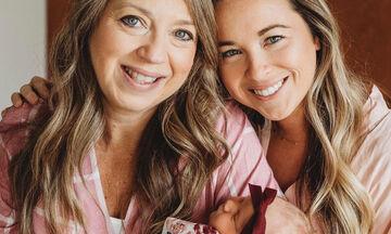 Αυτή η γυναίκα γέννησε την εγγονή της (pics)
