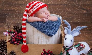 Δέκα ξεχωριστές χριστουγεννιάτικες φωτογραφίες με μωρά