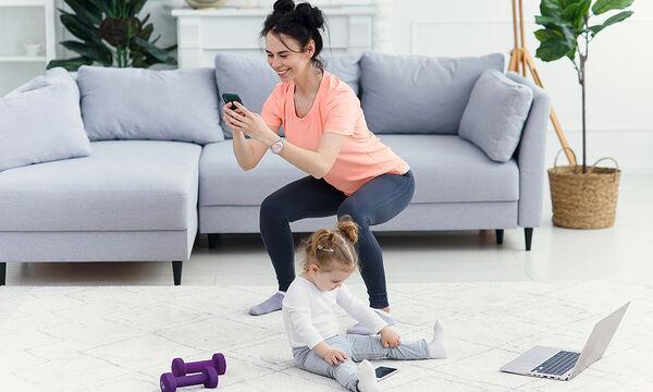 Γυμναστική για μαμάδες: Κάντε 600 βήματα σε 5'με αυτό το workout video