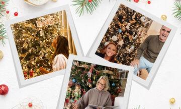 Μπαίνουμε στα σπίτια των Ελλήνων celebrities και βλέπουμε τη χριστουγεννιάτικη διακόσμησή τους