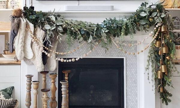 Χριστουγεννιάτικη διακόσμηση: Ιδέες για να στολίσετε το τζάκι σας (pics)