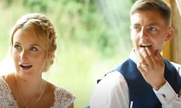 Ο μπαμπάς της έφυγε από τον γάμο-Δείτε την έκπληξη που έφερε όταν επέστρεψε
