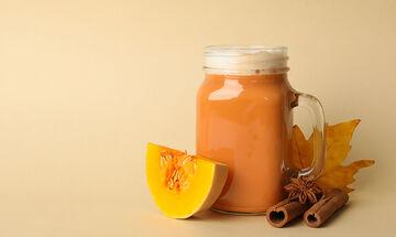 Φθινοπωρινό smoothie με κολοκύθα για μαμάδες που χρειάζονται ενέργεια
