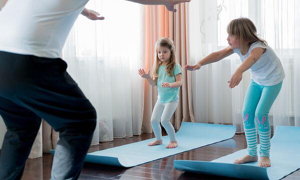Γυμναστική για παιδιά: 5λεπτό πρόγραμμα γυμναστικής