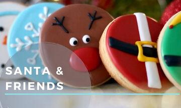 Χριστουγεννιάτικα μπισκότα: Επτά τρόποι για να τα διακοσμήσετε (vid)