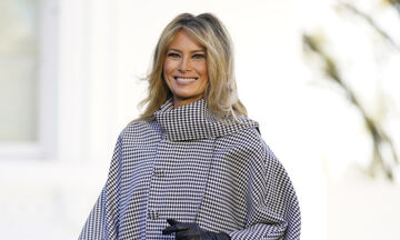 Όλοι μιλούν για το εντυπωσιακό νέο hair look της Μελάνια Τραμπ και όχι άδικα