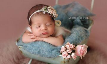 Βίντεο δείχνει πώς γίνεται η φωτογράφιση των νεογέννητων μωρών