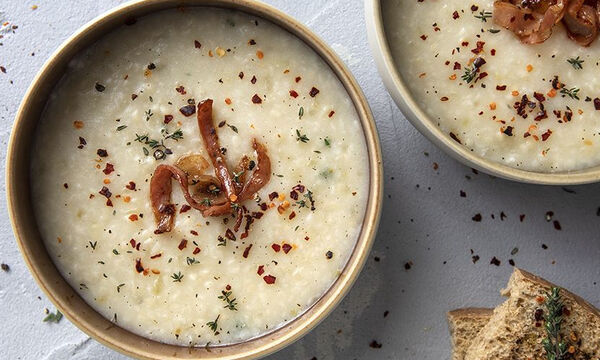 Τραχανόσουπα με σπιτικό τραχανά - Μία συνταγή του Άκη Πετρετζίκη
