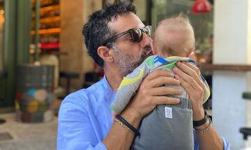 Γιώργος Χρανιώτης: Δείτε πώς φωτογράφισε τη γυναίκα του με τον γιο τους
