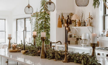 Χριστουγεννιάτικη διακόσμηση: 10 ιδέες για να στολίσετε την κουζίνα σας