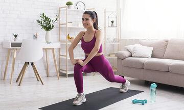 Γυμναστική για μαμάδες: 15 λεπτά έντονης γυμναστικής (vid)