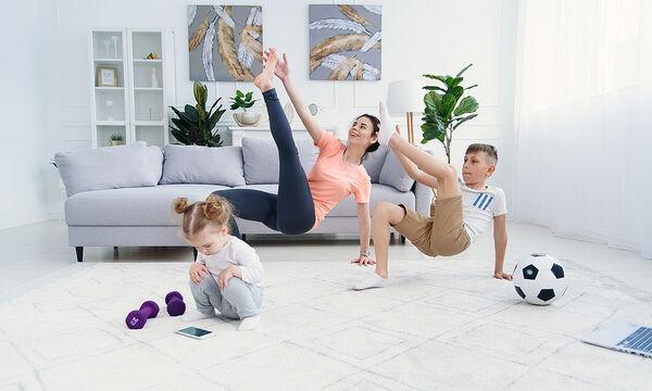 Γυμναστική για μαμάδες: Έτσι θα χάσετε 500 θερμίδες μέσα σε 30 λεπτά (vid)