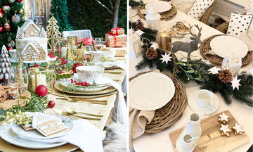 Tips για μαμάδες: 5+1 ιδέες διακόσμησης για το χριστουγεννιάτικο τραπέζι