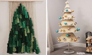 Δεν έχετε χριστουγεννιάτικο δέντρο; Φτιάξτε ένα με τέσσερις τρόπους
