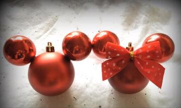Χριστουγεννιάτικη διακόσμηση: Φτιάξτε στολίδια εμπνευσμένα από τη Disney