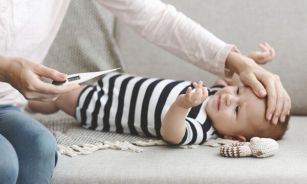 Σημάδια που μαρτυρούν ότι το μωρό σας είναι άρρωστο