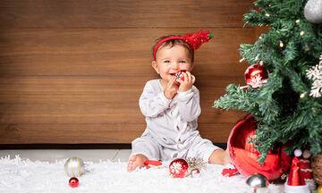 Χριστουγεννιάτικο δέντρο: Τι να προσέχετε όταν έχετε στο σπίτι μικρά παιδιά