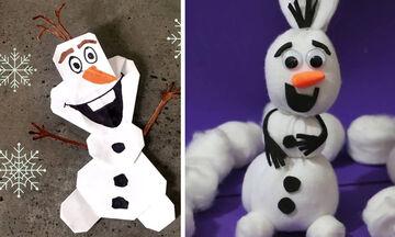 Τρεις χειροτεχνίες με τον Olaf που θα λατρέψουν τα παιδιά (vids)