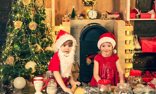 Φτιάξτε με τα παιδιά σας χριστουγεννιάτικα μπισκότα με κανέλα (vid)