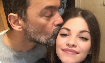 H τρυφερή φώτο της Τζένης Καζάκου με τον πατέρα της (pics)