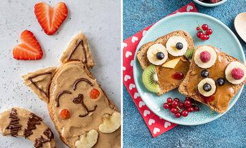 Ευφάνταστα πιάτα με φυστικοβούτυρο για το πρωινό των παιδιών (pics)