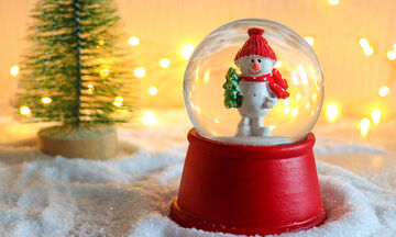 Χειροτεχνίες για παιδιά: Φτιάξτε εντυπωσιακές χιονόμπαλες (vid)