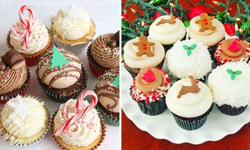 Ιδέες για χριστουγεννιάτικα cupcakes που μπορείτε να φτιάξετε με τα παιδιά