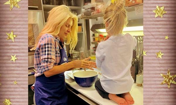 Να τι κάνει στην καραντίνα με τα παιδιά της η Ελένη Μενεγάκη (pics+vids)