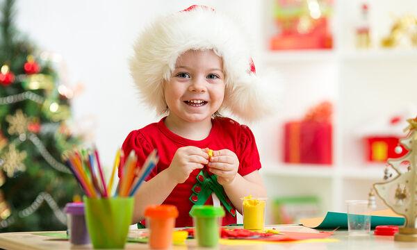 Χειροτεχνίες για παιδιά: Χριστουγεννιάτικες κατασκευές από πλαστελίνη