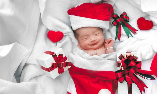 Πέντε ιδέες για να γιορτάσετε τα πρώτα Χριστούγεννα με το μωρό στο σπίτι