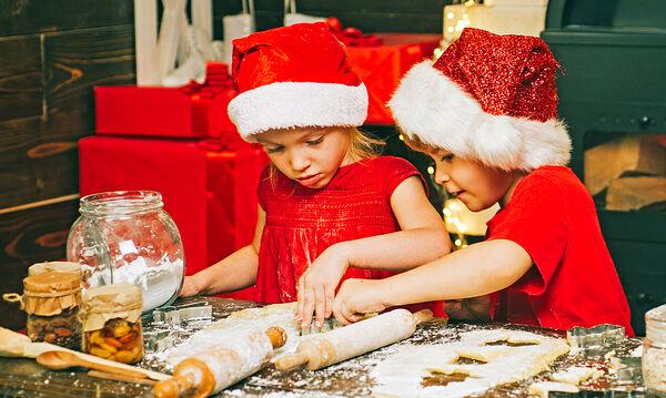 Τρία χριστουγεννιάτικα γλυκά που μπορούν να φτιάξουν τα παιδιά σας (vid)