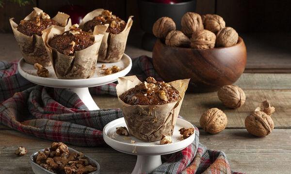 Υγιεινά χριστουγεννιάτικα muffins για όλη την οικογένεια