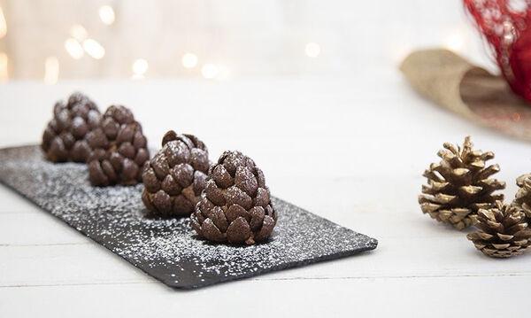 Κουκουνάρια από σοκολάτα - Τα παιδιά θα τα λατρέψουν