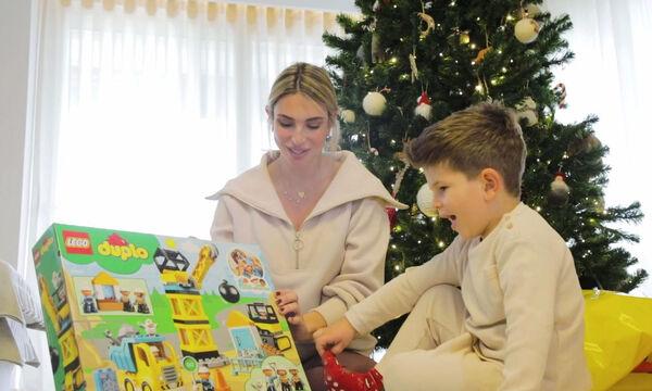 Η Μαρίζα Μπαϊρακτάρη μοιράζεται μαζί μας πώς περνά τις ώρες της με τον μικρό της στο σπίτι!