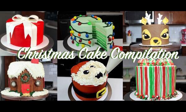 Έξι εντυπωσιακές τούρτες για παιδιά που έχουν γενέθλια μέσα στις γιορτές