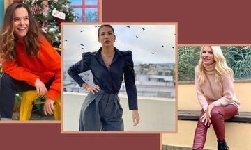 Αυτό το στυλ παντελονιών αγαπούν οι μαμάδες της εγχώριας showbiz